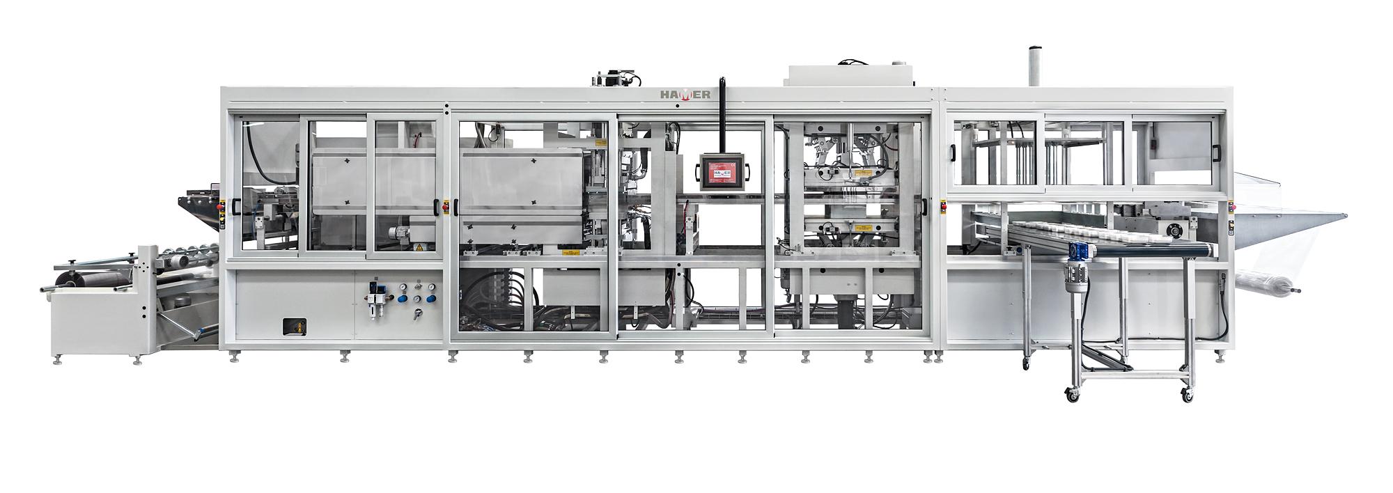 Máquina termoformadora TVP64 TVP67