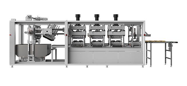 Automatic Thermoforming Machine For High Quality Pulp/Cellulose Fiber Based Products
